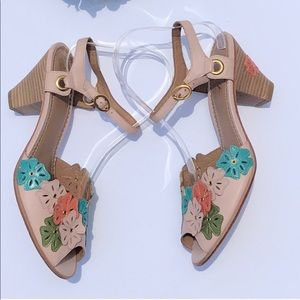 MIss Albright Peep Toe Sandals